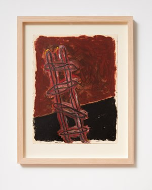 Ladder and Step Series #2 by Basil Beattie contemporary artwork