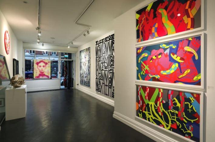 Exhibition view: Maddox Gallery | Five, Maddox Gallery, Maddox Street, London (16 December–28 February 2021). Courtesy Maddox Gallery.
