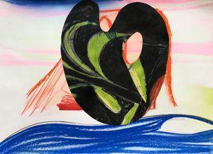 Black Palette by Aurélie Gravas contemporary artwork