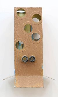 Rain Monkey by Richard Reddaway contemporary artwork sculpture