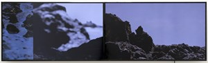 Sfakia - day for night, two files for two monitors by Nathan Pohio contemporary artwork
