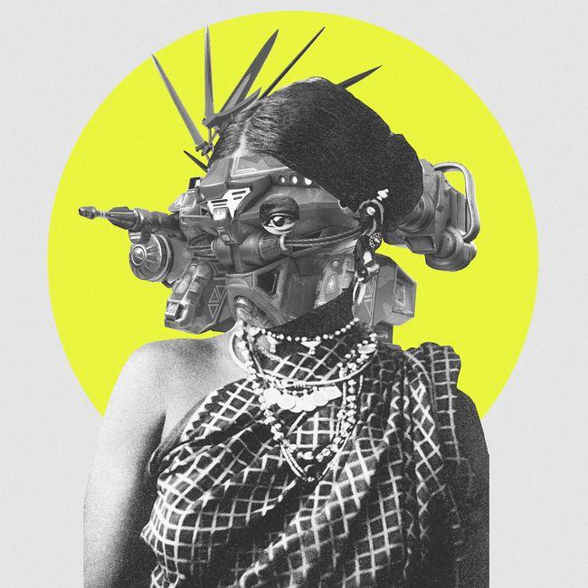 Self Port(trait) City by Muvindu Binoy contemporary artwork