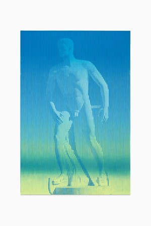 As Yet Titled (Skater) by Richard Phillips contemporary artwork
