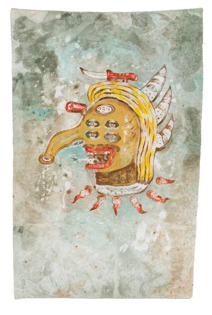 Michel Foucault in Macro Cosmos by Heri Dono contemporary artwork