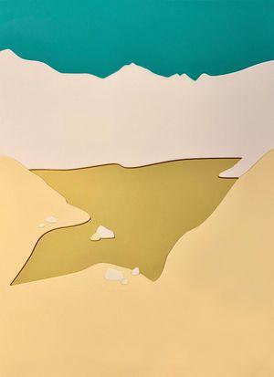 Lake Maralgol by Orkhan Huseynov contemporary artwork sculpture