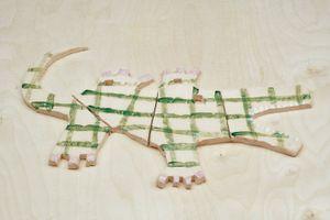 Crocodile by Jenny Brosinski contemporary artwork