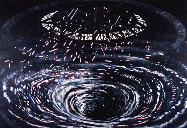 Swirl by Oscar Oiwa contemporary artwork