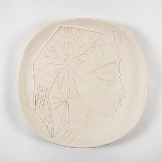 Profil de Jacqueline by Pablo Picasso contemporary artwork