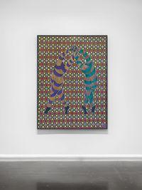 Izandla Ziyagezana by Sthenjwa Luthuli contemporary artwork painting, works on paper, sculpture