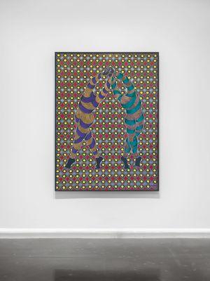 Izandla Ziyagezana by Sthenjwa Luthuli contemporary artwork