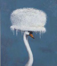 Code Blue by Joanna Braithwaite contemporary artwork painting