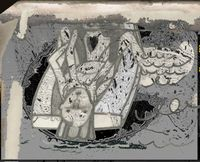 The Interview Room (from the series: Farewelling Junkyard) by Tamara K. E. contemporary artwork mixed media