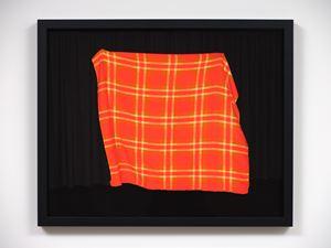 Orange blanket by Greta Anderson contemporary artwork