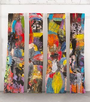 Rules of the Forest by Jim Dine contemporary artwork