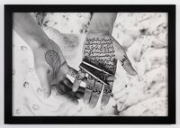 Moon Song, from Women of Allah series by Shirin Neshat contemporary artwork photography