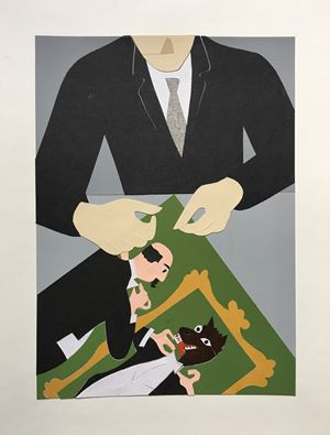 Ego by Gavin Hurley contemporary artwork
