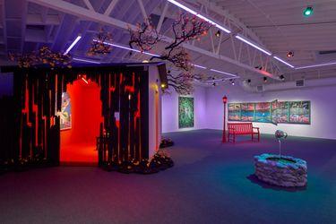 Exhibition view: Greg Ito,Apparition, Anat Ebgi, 6150 Wilshire Blvd(2 October–20 Novermber 2021). Courtesy Anat Ebgi.