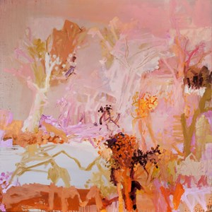 Pink sky in the morning by Jo Davenport contemporary artwork
