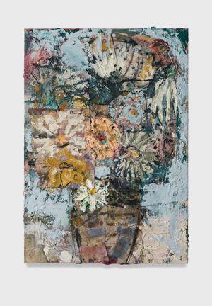 Flowers 15 (kings blue light) by Daniel Crews-Chubb contemporary artwork