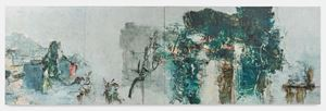 Green Mountains Shall See Me Like This by Tu Hongtao contemporary artwork
