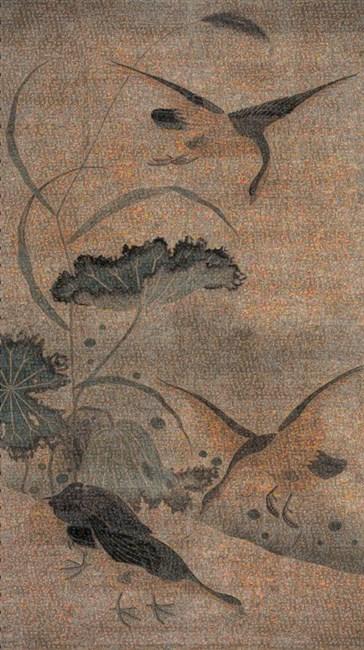 The Birds No.2 by Guo Jian contemporary artwork