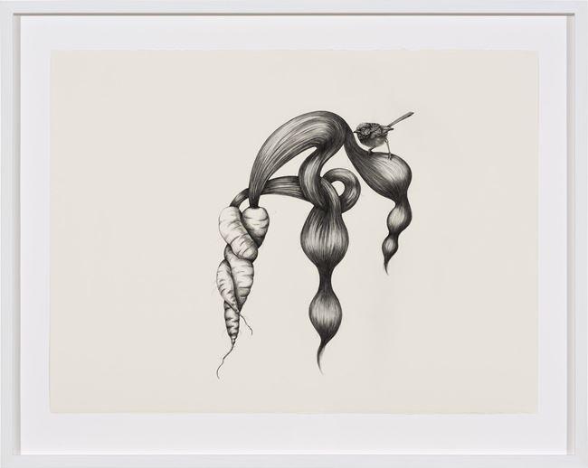 Inseparable (Fairy Wren) by Patricia Piccinini contemporary artwork