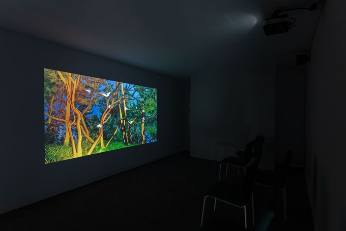 Exhibition view: Gao Yuan,The Omen 征兆, Capsule Shanghai, Shanghai (26 October–25 December 2019). Courtesy Capsule Shanghai.