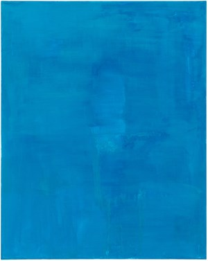 Blue by Mayo Thompson contemporary artwork