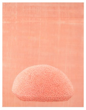 Peachy by Katharina Schilling contemporary artwork