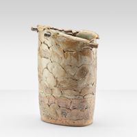 Oval Container by Heidi Kippenberg contemporary artwork sculpture, ceramics