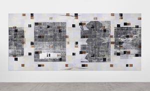 From the series La fin de l'imagination (XXIX) by Adrián Villar Rojas contemporary artwork works on paper, mixed media