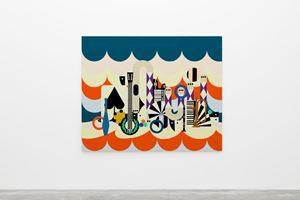 Circus 2 by Farah Atassi contemporary artwork