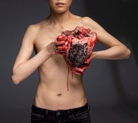 The Thing in the Chest by Cao Yu contemporary artwork photography