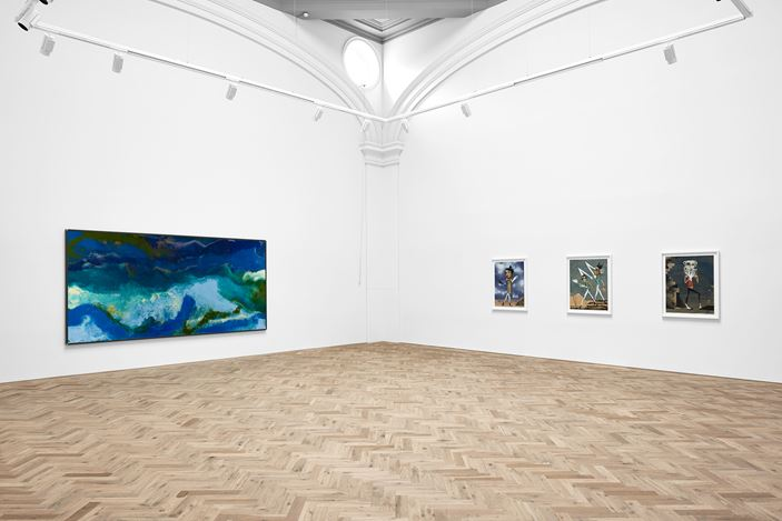 Exhibition view: Group Exhibition, HOME, Ingleby, Edinburgh (5 August–19 September 2020). Courtesy the artists and Ingleby, Edinburgh. Photo: John McKenzie.