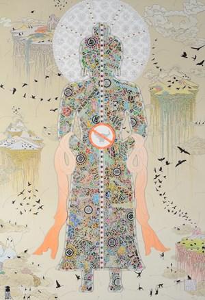 Wisdom of Sustainability by Gonkar Gyatso contemporary artwork
