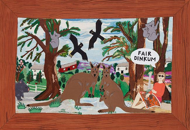Scene 8 by Adrienne Doig contemporary artwork