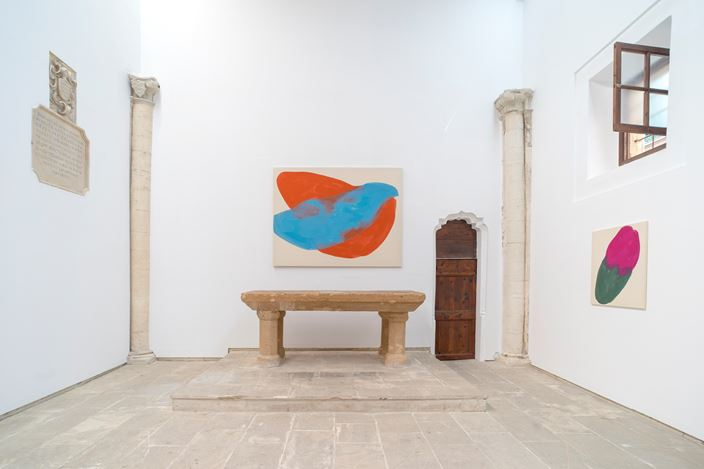 Exhibition view: Tamina Amadyar, The Big Dipper, KEWENIG, Palma (21 September–7 December 2019). Courtesy KEWENIG.