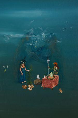 Naissance de la nuit by Karine Rougier contemporary artwork