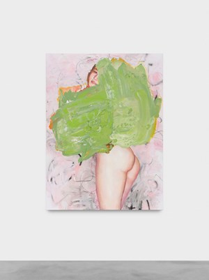 Nude and colors, green by Tursic & Mille contemporary artwork