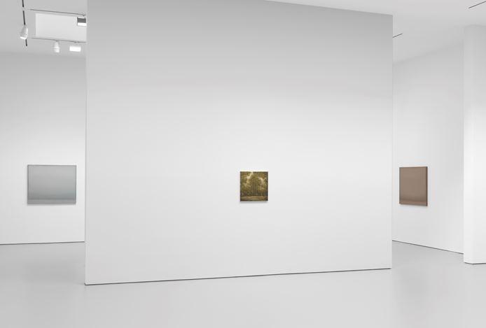 Exhibition view: Lucas Arruda, Deserto-Modelo, David Zwirner, 19th Street, New York (12 September–26 October 2019). Courtesy David Zwirner.