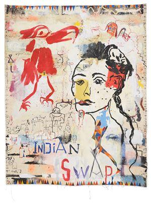 Indian Swap by Brad Kahlhamer contemporary artwork