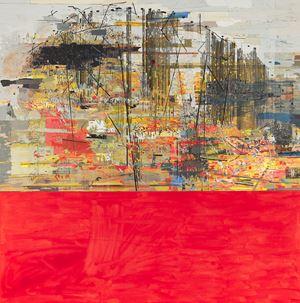 African Landscape: The Big Koppie by Clive Van Den Berg contemporary artwork