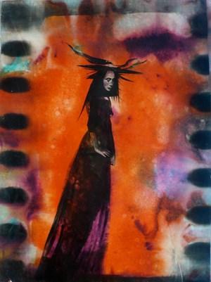 Voodoo Firewand by Jason Greig contemporary artwork works on paper