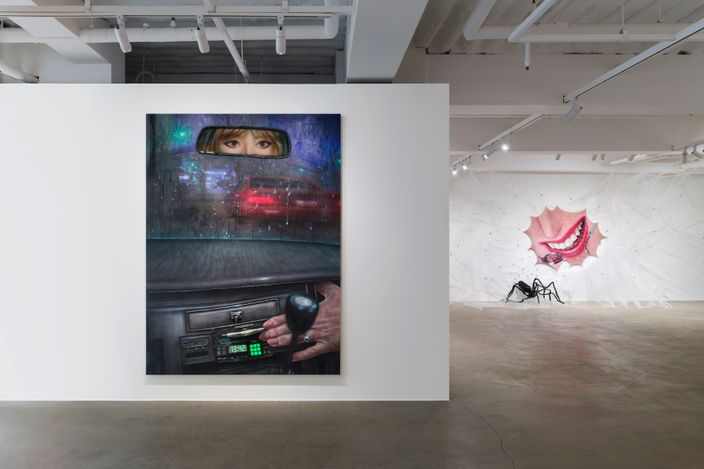 Exhibition view:Trey Abdella, MIRRORS,KÖNIG GALERIE, Seoul (4 September–3 October 2021). CourtesyKÖNIG GALERIE. Photo:Cheonho Ahn.