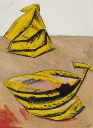 two bananas by Kwon Chulhwa contemporary artwork