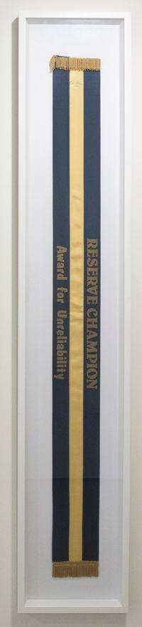 Reserve Champion: Award for Unreliability by Cat Auburn contemporary artwork sculpture