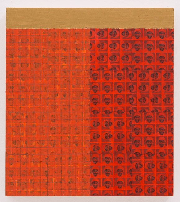 MAB: 1947: D by McArthur Binion contemporary artwork