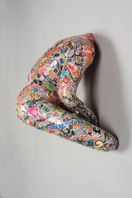 Untitled (Silver Base) by Gonkar Gyatso contemporary artwork