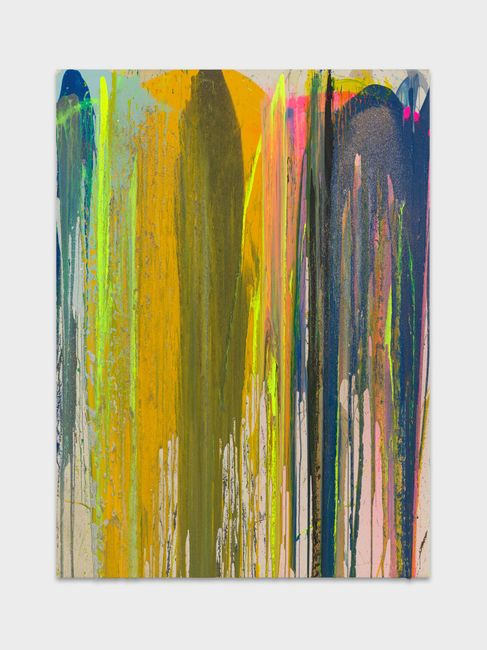 Amontilad by John M Armleder contemporary artwork