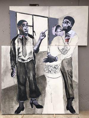 Mpharanyana by Neo Matloga contemporary artwork